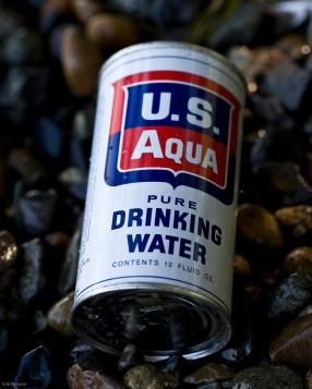U.S. AQUA PURE DRINKING WATER FRONT TILTED
