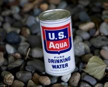 U.S. AQUA PURE DRINKING WATER FRONT