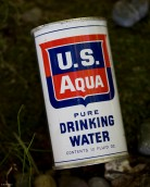 U.S. AQUA PURE DRINKING WATER FRONT ANGLED