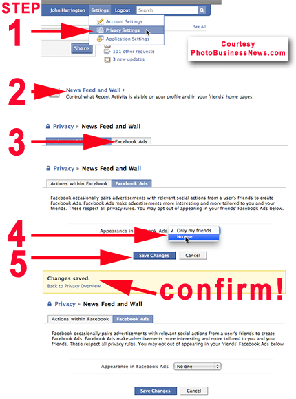 How To Disable Facebook Ads for your images