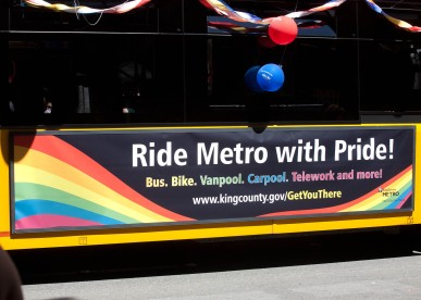 Ride Metro with Pride!